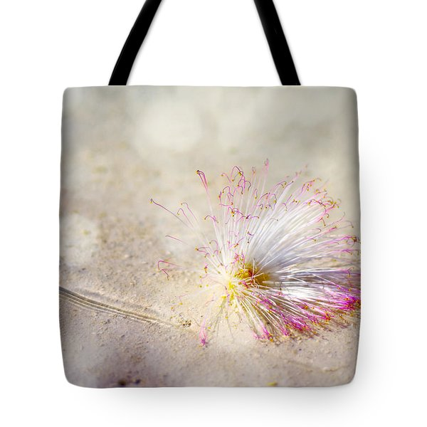 Purity Tote Bag by Jenny Rainbow