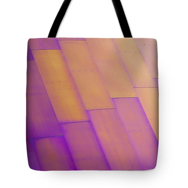Purple Orange I Tote Bag by Chris Dutton