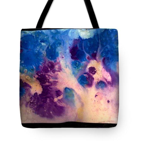Purple Skies Tote Bag by Tis Art