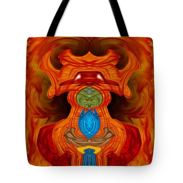Pygmie Tote Bag by Christopher Gaston