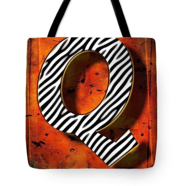 Q Tote Bag by Mauro Celotti