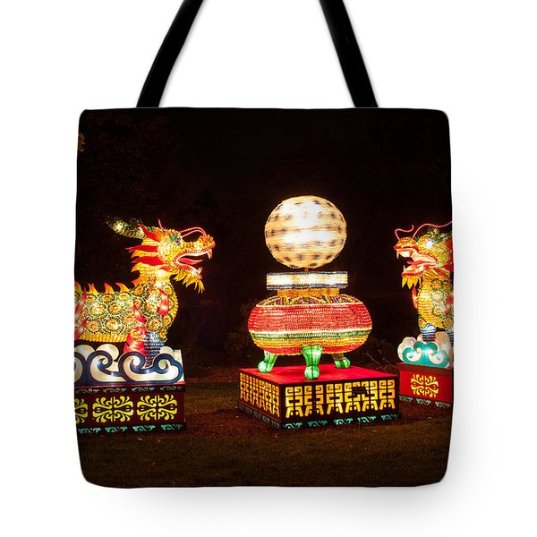 Qilin Tote Bag by Semmick Photo