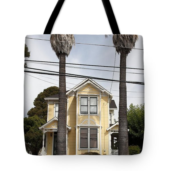 Quaint House Architecture - Benicia California - 5d18592 Tote Bag by Wingsdomain Art and Photography