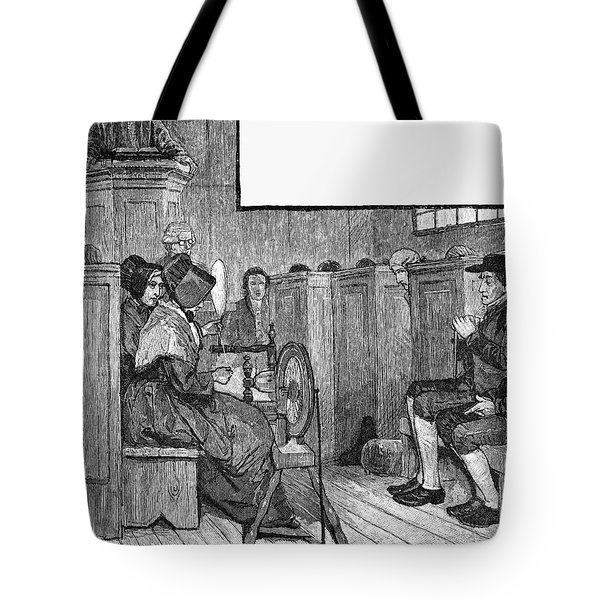 Quaker Meeting Tote Bag by Granger