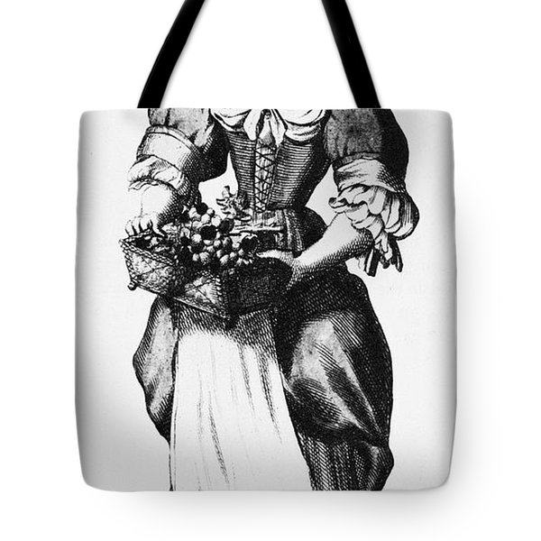 Quaker Woman, 17th Century Tote Bag by Granger
