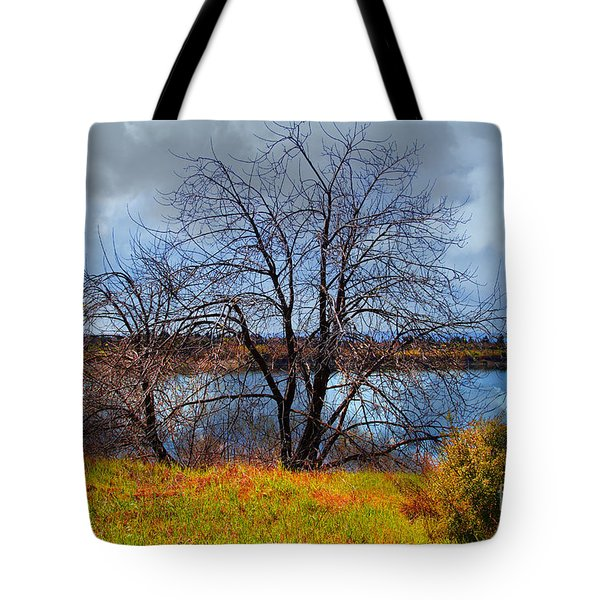 Quarry Lakes in Fremont California . 7D12636 Tote Bag by Wingsdomain Art and Photography