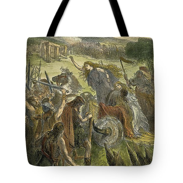Queen Boadicea, 1st Cent Tote Bag by Granger
