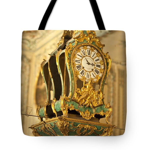 Queen's Clock Tote Bag by Nomad Art And  Design