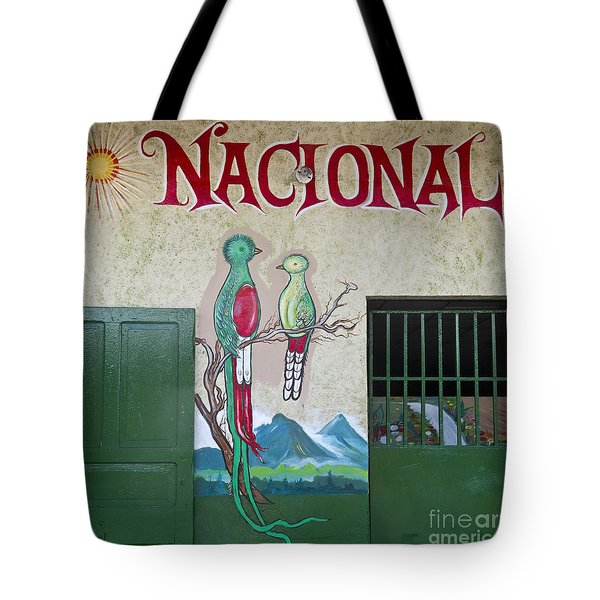 Quetzal Painting  Tote Bag by Heiko Koehrer-Wagner