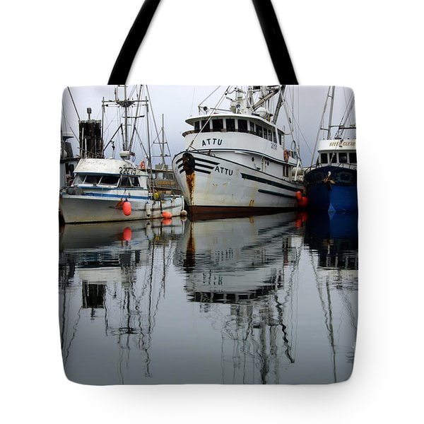 Quiet Time Tote Bag by Bob Christopher