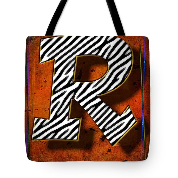 R Tote Bag by Mauro Celotti