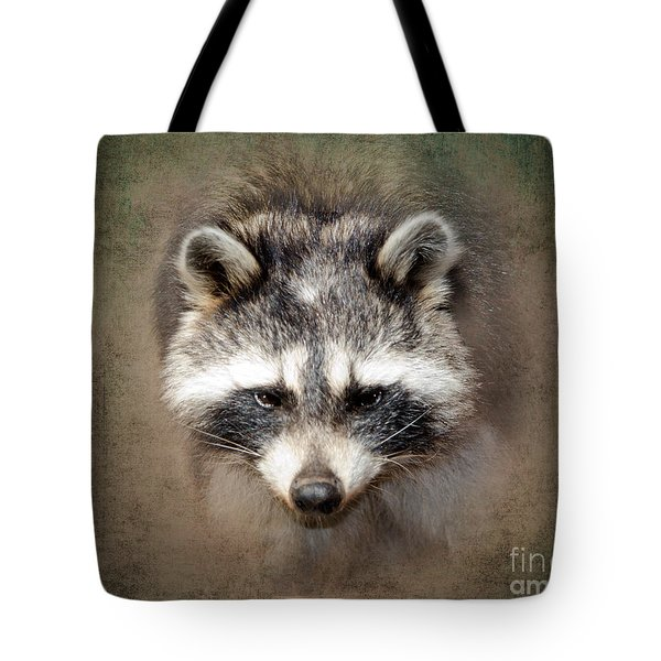 Raccoon 2 Tote Bag by Betty LaRue