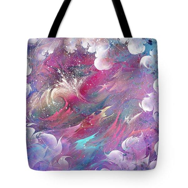 Raging Dreams Tote Bag by Rachel Christine Nowicki