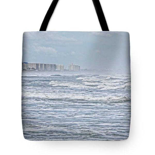 Raging Waters Tote Bag by Deborah Benoit