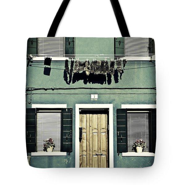 rags in Venice Tote Bag by Joana Kruse