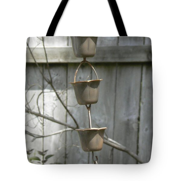 Rain Catchers Tote Bag by Pamela Patch