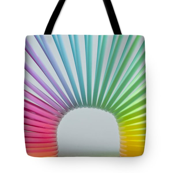 Rainbow 2 Tote Bag by Steve Purnell