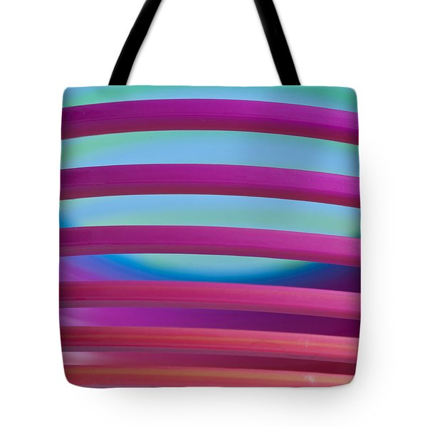 Rainbow 4 Tote Bag by Steve Purnell