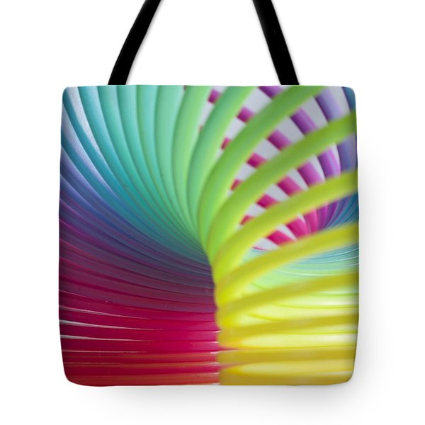 Rainbow 7 Tote Bag by Steve Purnell