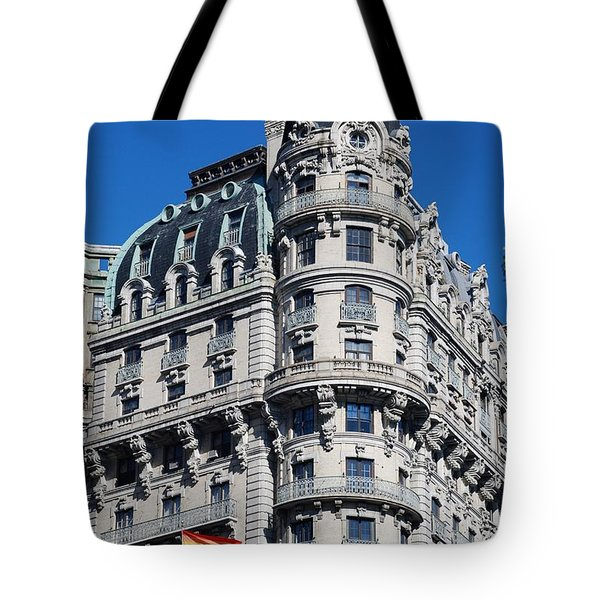 Rainbows And Architecture Tote Bag by Rob Hans
