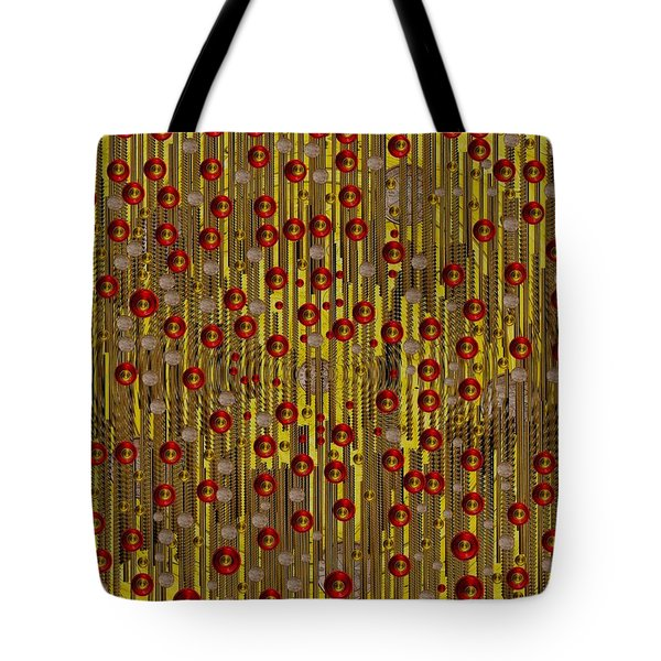 raining coins and juwels Tote Bag by Pepita Selles