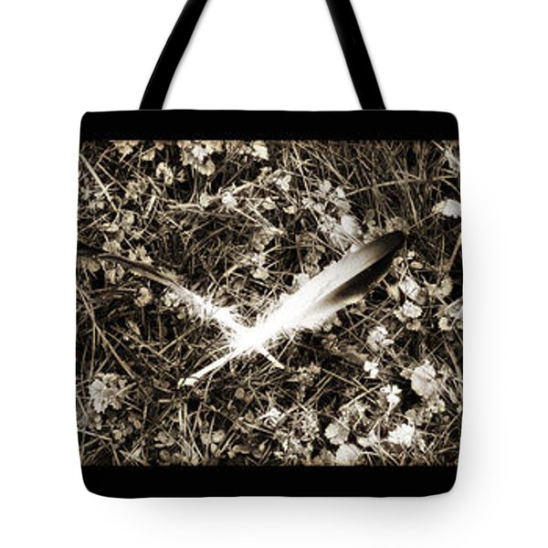 Rainy Day Geese Tote Bag by Bill Cannon