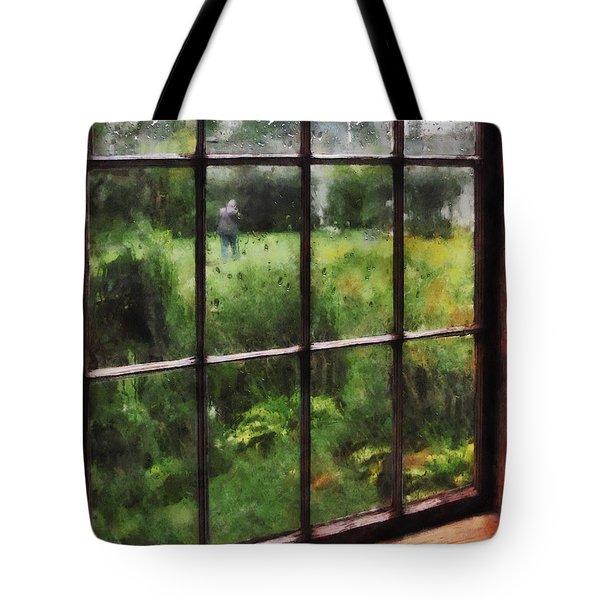 Rainy Day Tote Bag by Susan Savad