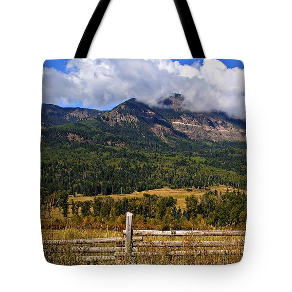 Ranchland Tote Bag by Marty Koch