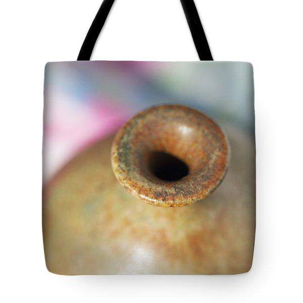 Rare John Regis Tuska Pottery Vase Tote Bag by Kathy Clark