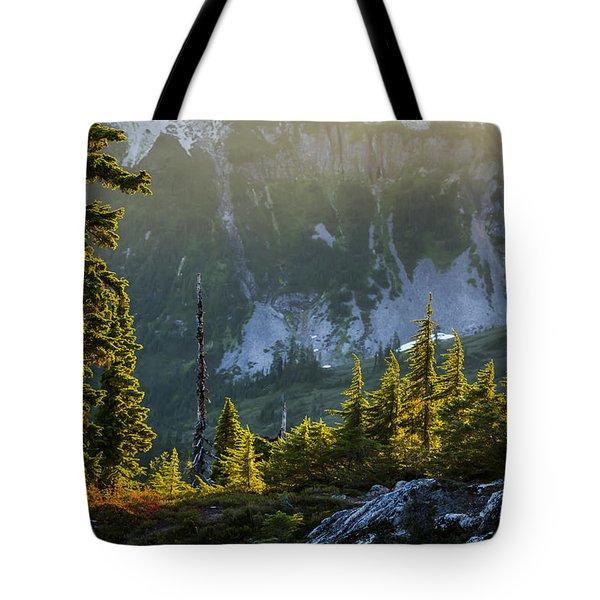 Rare Sunset Tote Bag by Albert Seger