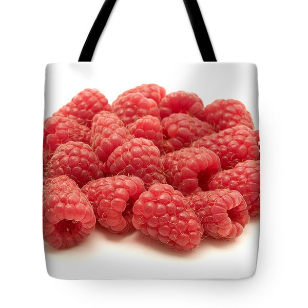 Raspberries Tote Bag by Fabrizio Troiani