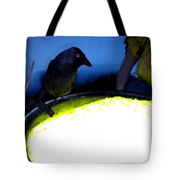 Raven Reflecting Tote Bag by Colette V Hera  Guggenheim