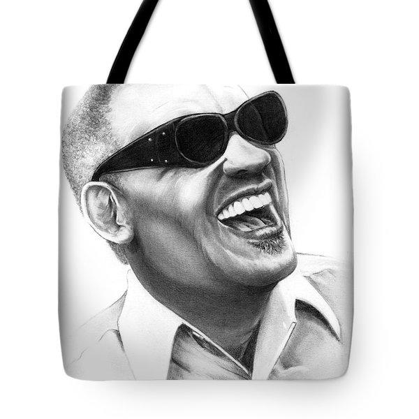 Ray Charles Tote Bag by Murphy Elliott