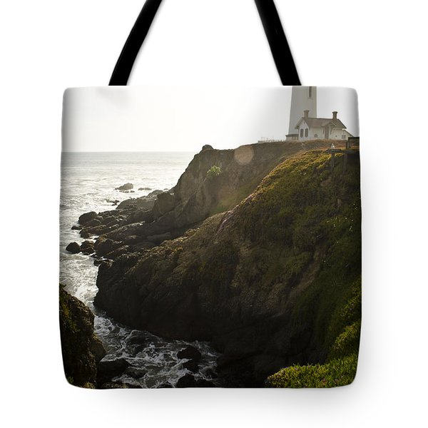 Ray Of Light Tote Bag by Heather Applegate