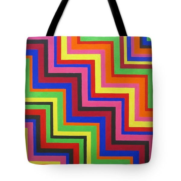 Razzmatazz Tote Bag by Oliver Johnston