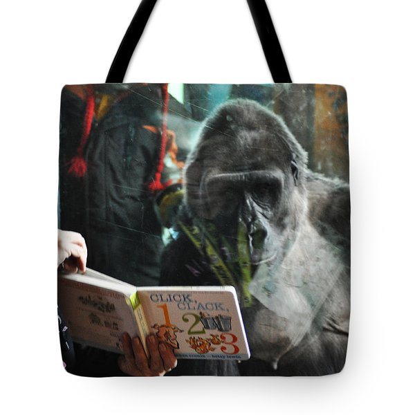 Reading Is Fundamental Tote Bag by Bill Cannon