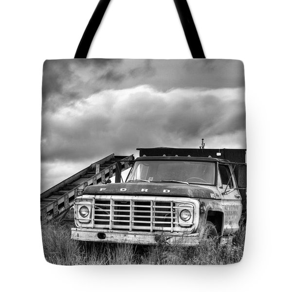 Ready for the Harvest BW Tote Bag by JC Findley