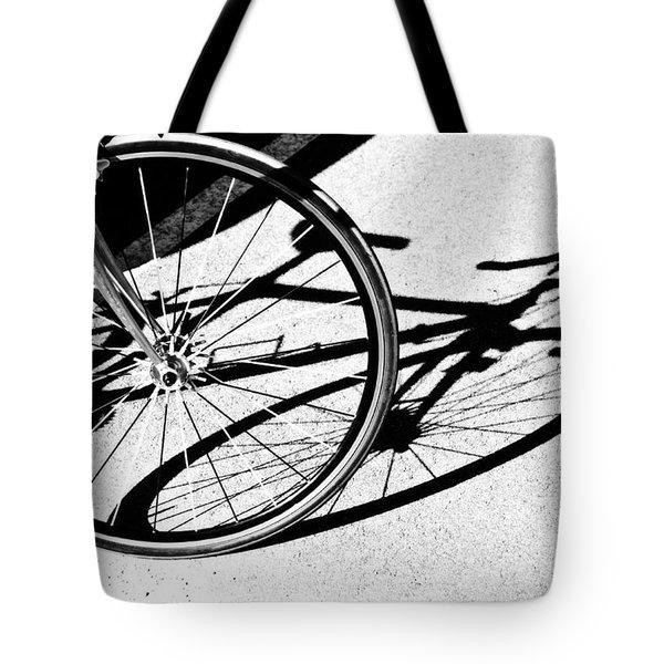 Ready to Ride Tote Bag by Susan Leggett