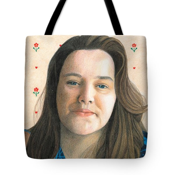 Rebecca - Puso Coracao Tote Bag by Ana Tirolese
