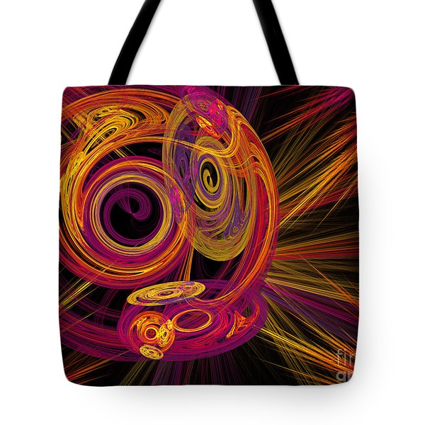 Record Time Machine Tote Bag by Andee Design
