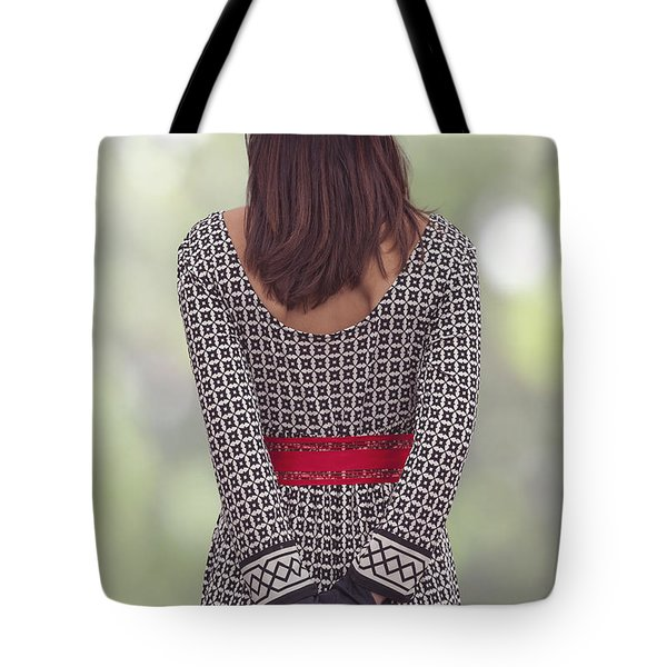 Red Cap Tote Bag by Joana Kruse