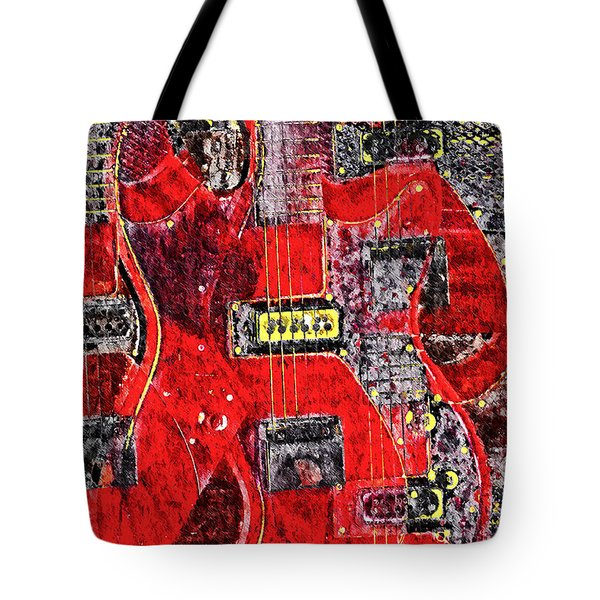 Red Devil Tote Bag by Bill Cannon