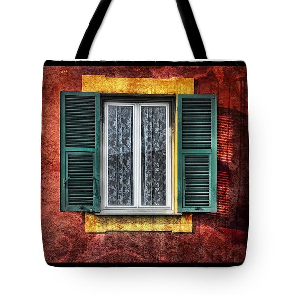 Red Wall Tote Bag by Mauro Celotti