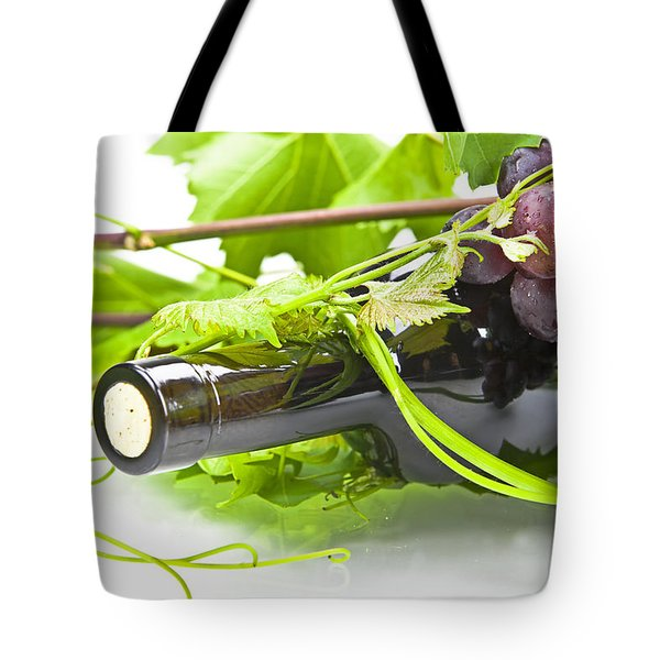 Red Wine Tote Bag by Joana Kruse