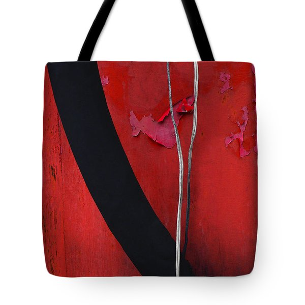 Redrum Tote Bag by Skip Hunt