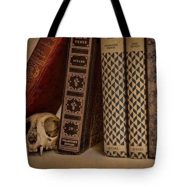 Reference Tote Bag by Heather Applegate