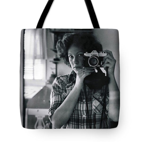 Reflecting Back Tote Bag by Rory Sagner
