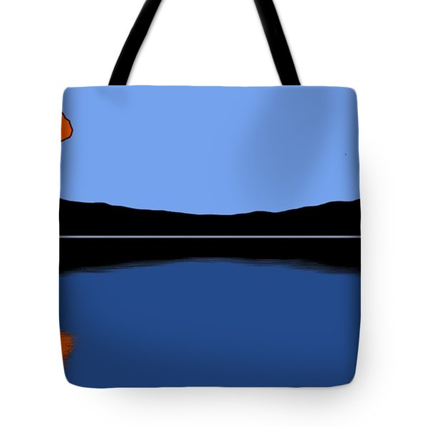 Reflection Tote Bag by George Pedro