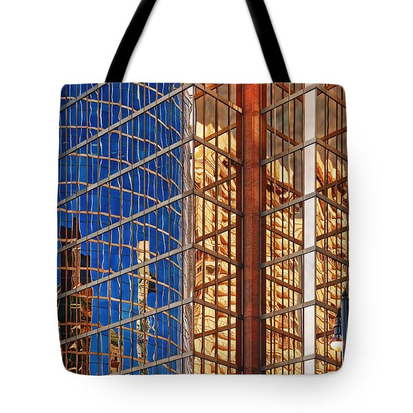 Reflections 2 Tote Bag by Mauro Celotti
