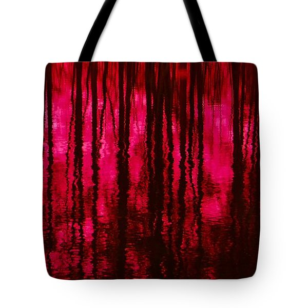 Reflections Tote Bag by David Lane